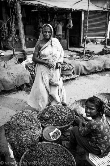 Bangladesh street market
