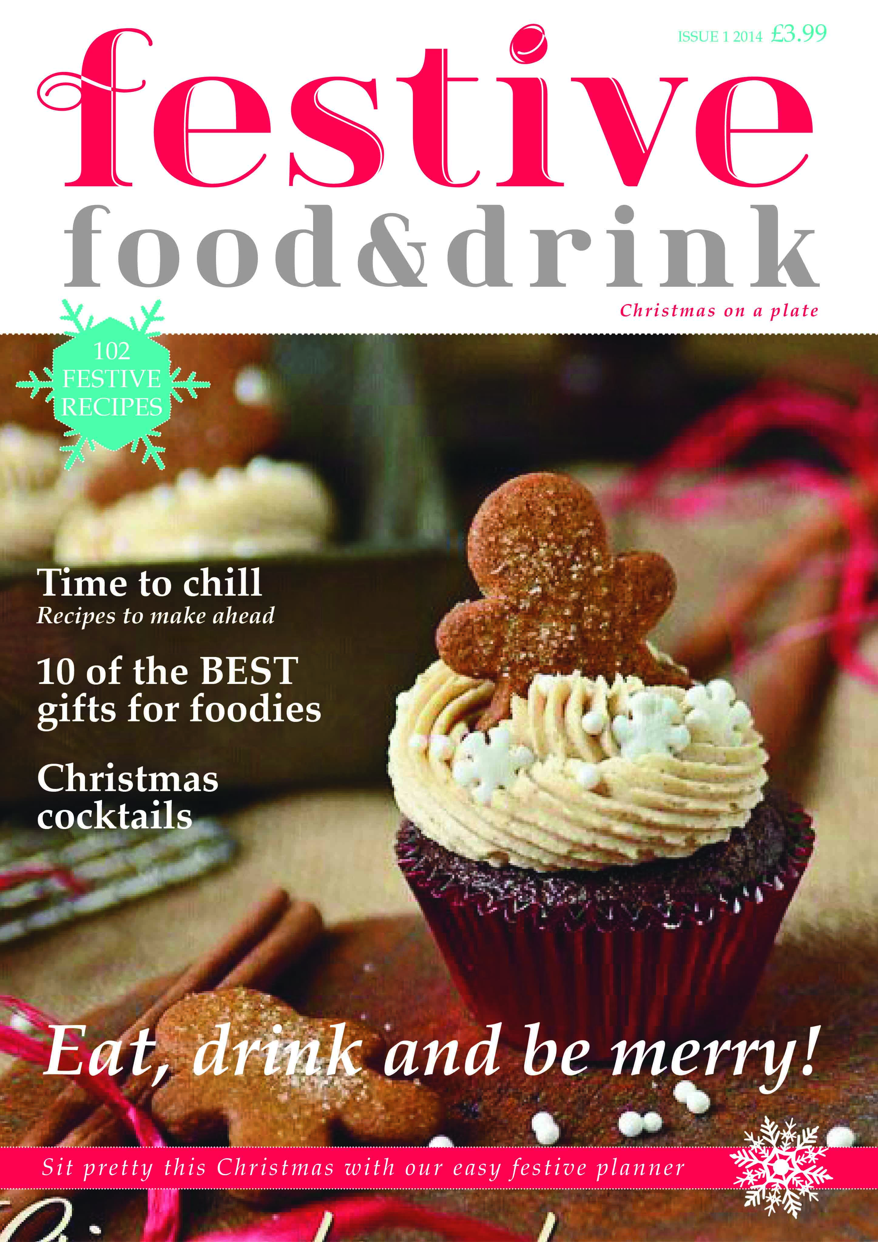 Vanessa Champion Festive Food and Drink cover1