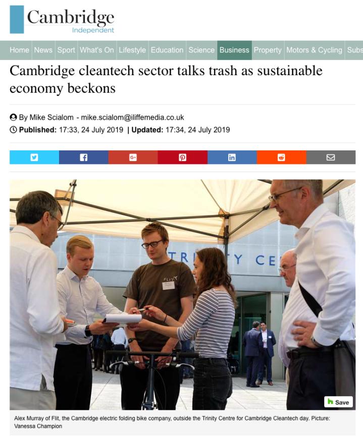 Cambridge Cleantech Cambridge Independent Vanessa Champion event photography
